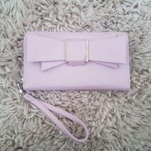 Betsey Johnson bow wallet